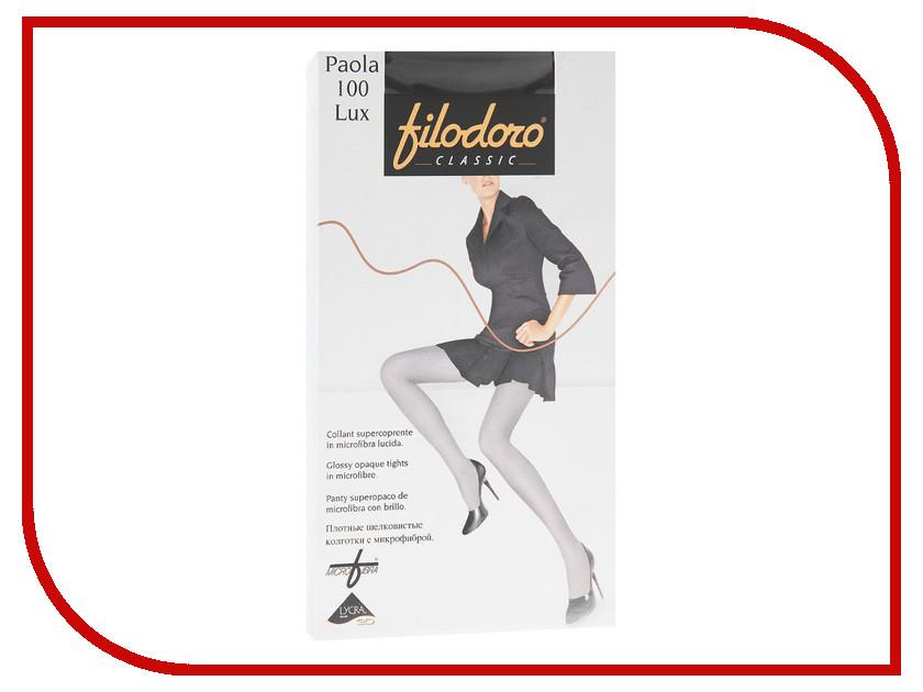 Колготки Filodoro Paola размер 3 плотность 100 LUX Den Nero колготки filodoro regina размер 3 плотность 100 den nero