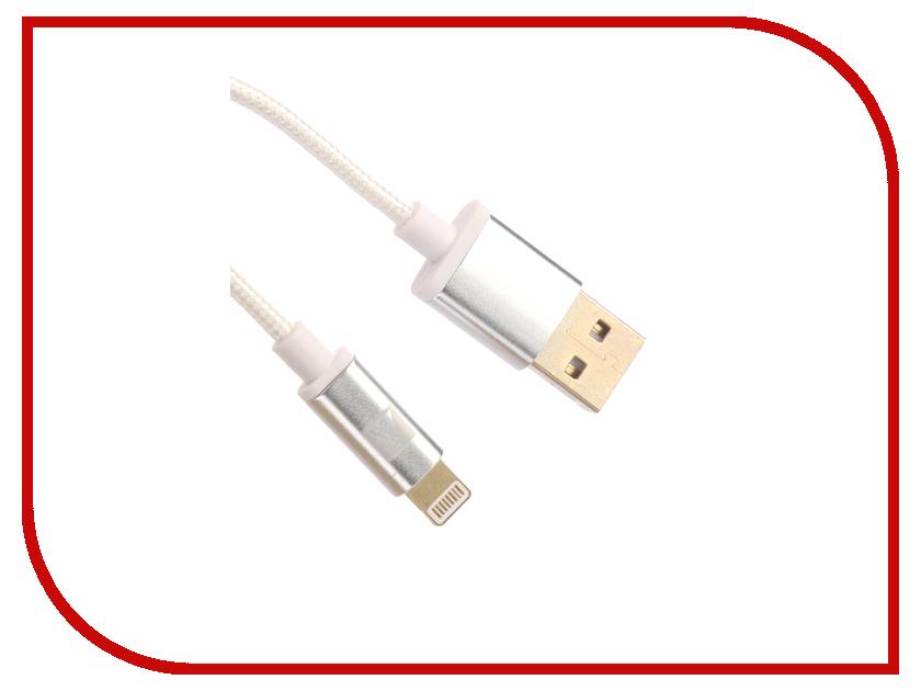 Аксессуар ACD Style Lightning USB-A 1m White ACD-U913-P6W hammer premium acd 121 le acd 120 le acd 141 le 101 030