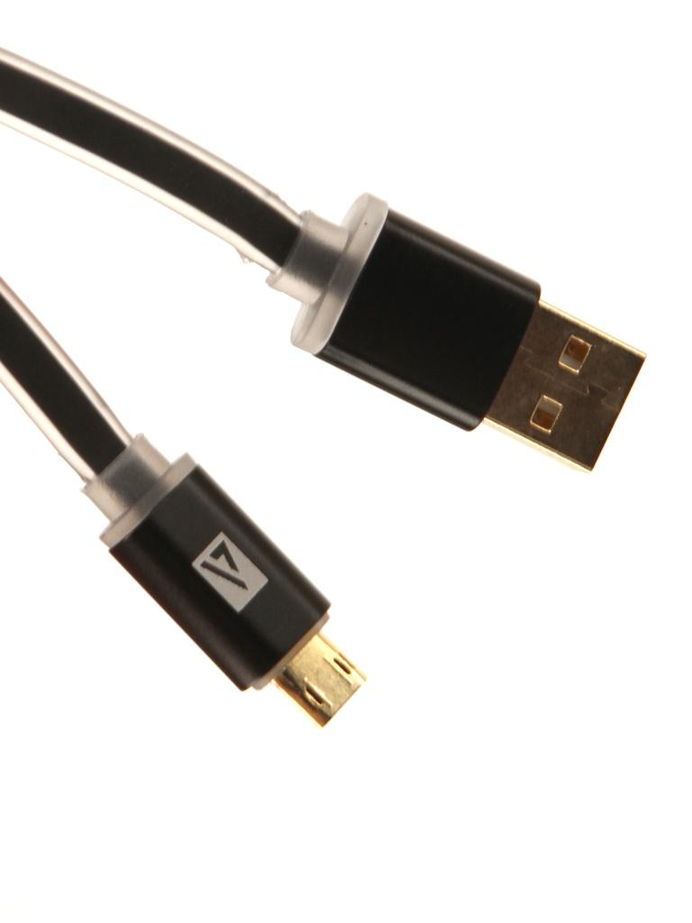 Аксессуар ACD Smart MicroUSB USB-A 1m Black ACD-U915-M2B