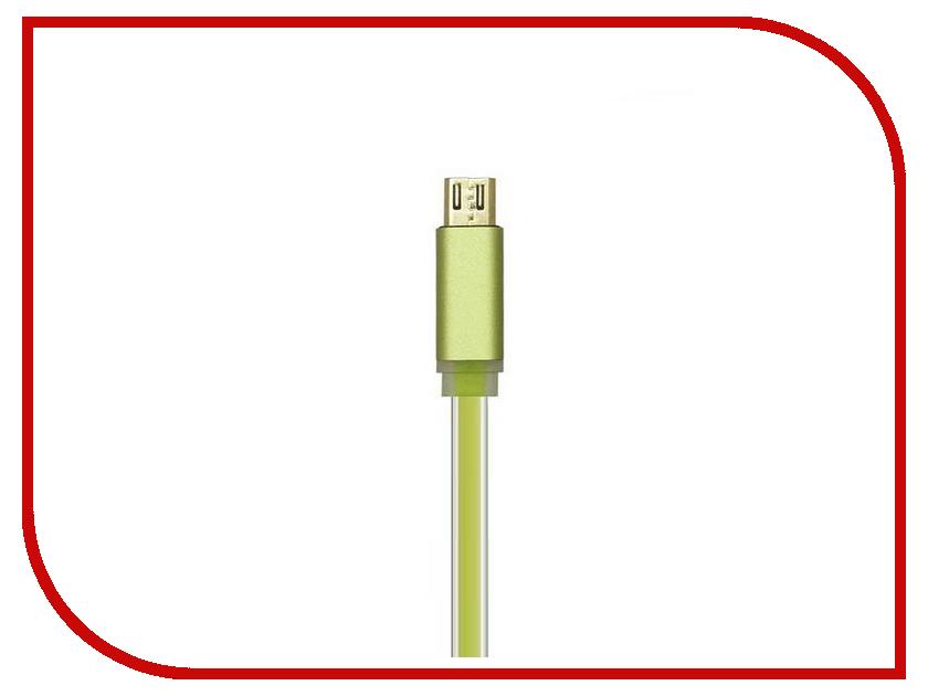 Аксессуар ACD Smart MicroUSB USB-A 1m Green ACD-U915-M2G