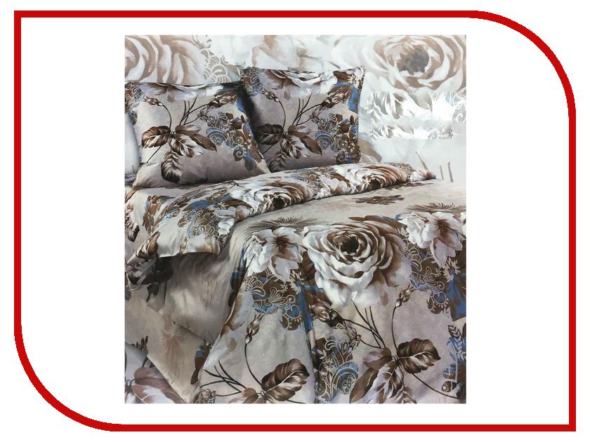Постельное белье Экзотика Реноме Комплект Евро Сатин постельное белье экзотика эгоист комплект евро сатин