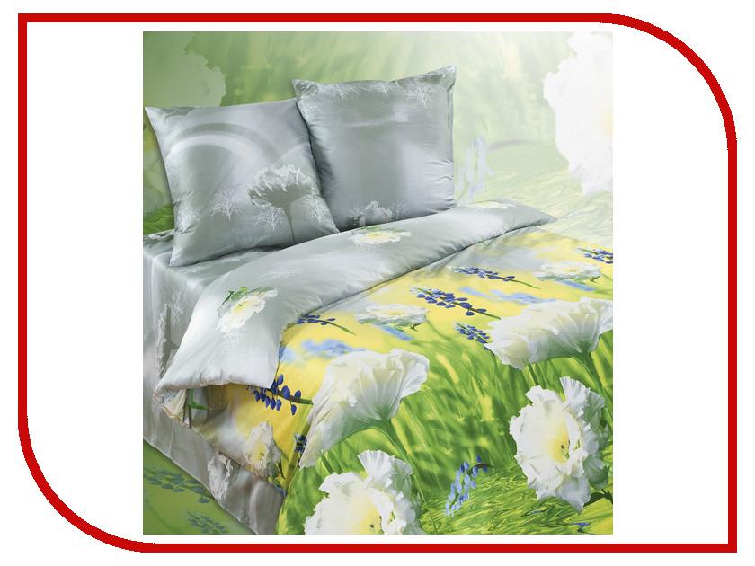 Постельное белье Экзотика 330 Комплект 1.5 спальный Сатин