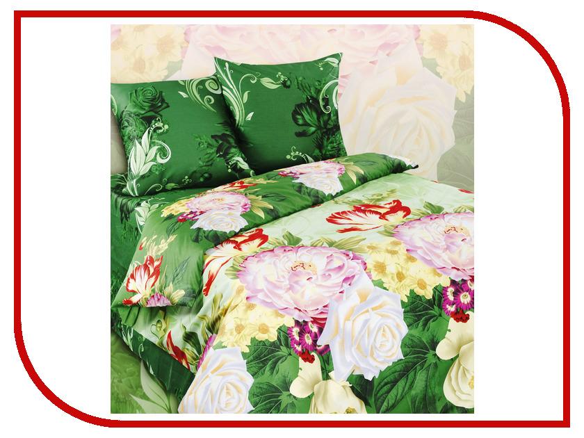 Постельное белье Экзотика 352 Комплект 1.5 спальный Сатин