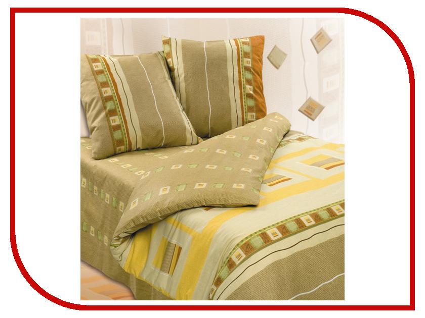 Постельное белье Экзотика Сахара Комплект 1.5 спальный Поплин