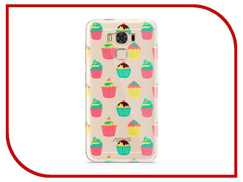 Аксессуар Чехол ASUS ZenFone 3 Max ZC553KL With Love. Moscow Silicone Cupcakes 7213 чехлы для телефонов with love moscow силиконовый дизайнерский чехол для meizu m3s перья