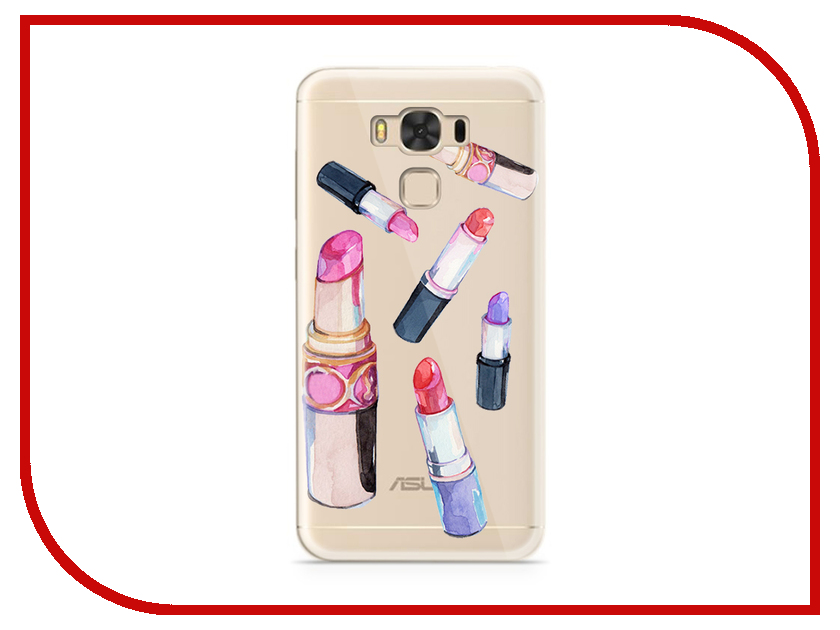 Аксессуар Чехол ASUS ZenFone 3 Max ZC553KL With Love. Moscow Silicone Lipsticks 7228 expfoot orthotic arch support shoe pad orthopedic insoles pu insoles for shoes breathable foot pads massage sport insole 045