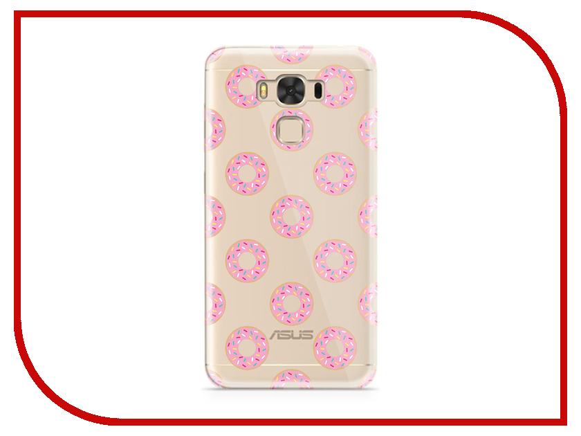 Аксессуар Чехол ASUS ZenFone 3 Max ZC553KL With Love. Moscow Silicone Donuts 7229 чехлы для телефонов with love moscow силиконовый дизайнерский чехол для meizu m3s перья