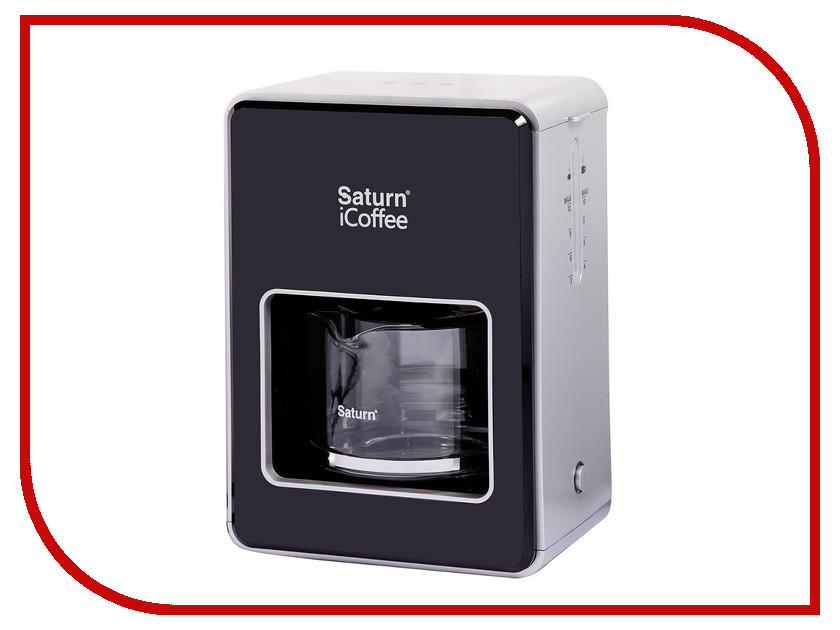 Кофеварка Saturn ST-CM7080 Black мини печь saturn st ec10701 black