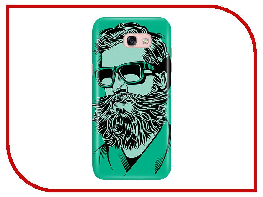 Аксессуар Чехол Samsung Galaxy A5 2017 A520 With Love. Moscow Green Beard 6926 чехлы для телефонов with love moscow силиконовый дизайнерский чехол для meizu m3s перья