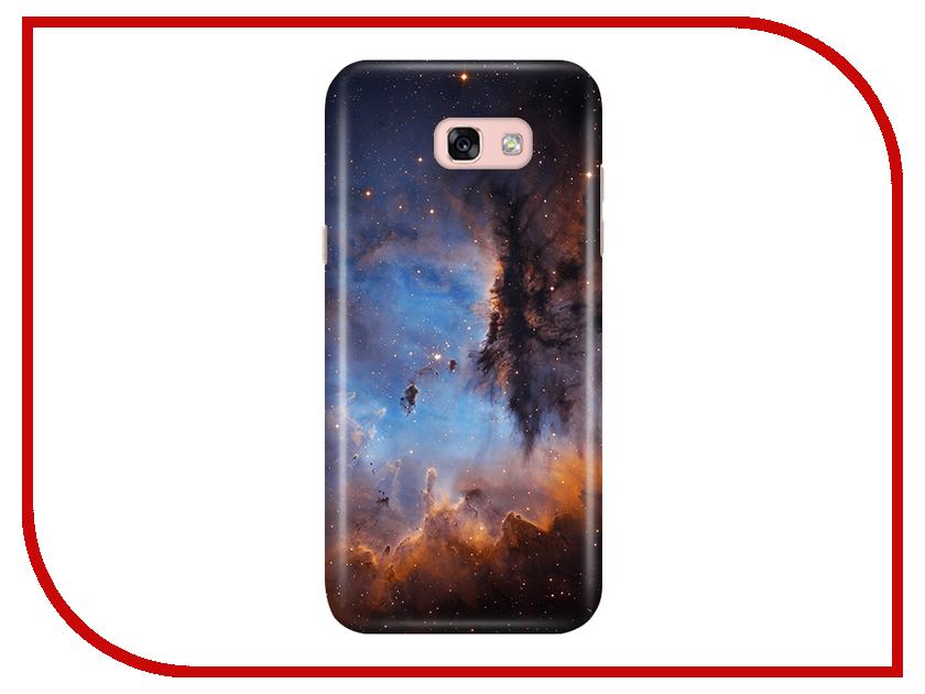 Аксессуар Чехол Samsung Galaxy A5 2017 A520 With Love. Moscow Space 2 6930 аксессуар чехол with love moscow samsung galaxy j5 2017 кожаный black 10206