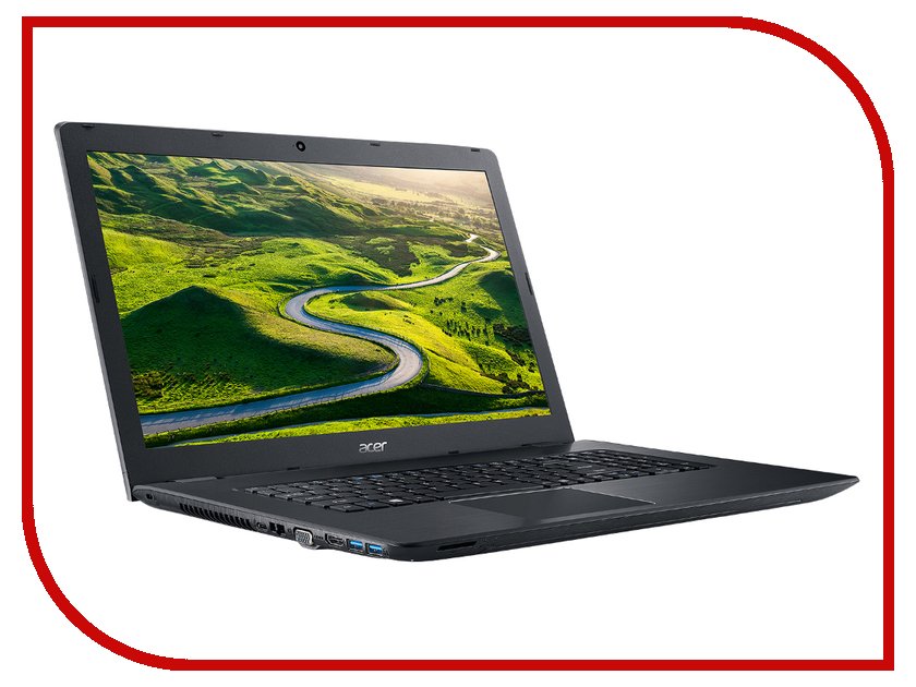 Ноутбук Acer Aspire E5-774-30T7 NX.GECER.011 (Intel Core i3-6006U 2.0 GHz/6144Mb/1000Gb/Intel HD Graphics/Wi-Fi/Bluetooth/Cam/17.3/1920x1080/Windows 10 64-bit)