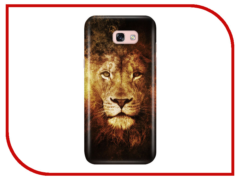 Аксессуар Чехол Samsung Galaxy A5 2017 A520 With Love. Moscow Lion 2 6933 аксессуар чехол samsung galaxy a3 2017 a320 with love moscow starlight night 6981