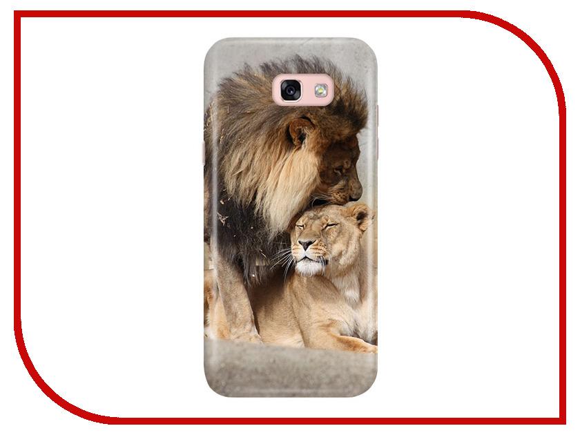 Аксессуар Чехол Samsung Galaxy A5 2017 A520 With Love. Moscow Lions 6936 чехлы для телефонов with love moscow силиконовый дизайнерский чехол для meizu m3s перья