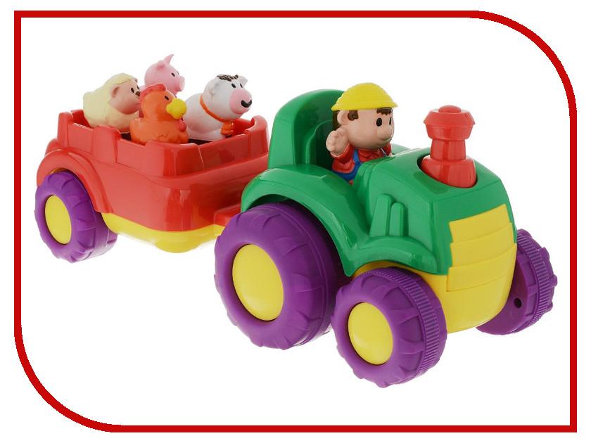 Игра Keenway Трактор и трейлер 31222 keenway keenway машина нажми и поедет полицейская собака