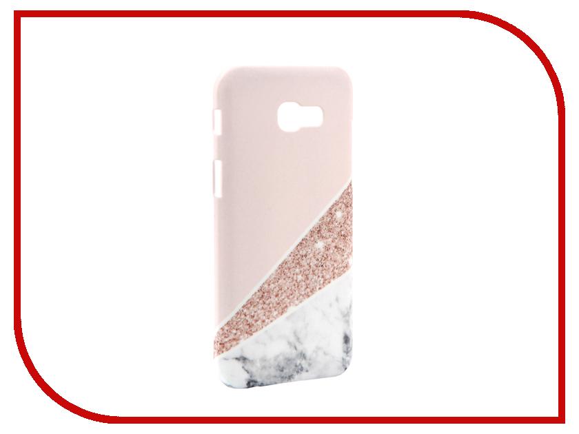 Аксессуар Чехол Samsung Galaxy A5 2017 A520 With Love. Moscow Marble 6940 чехлы для телефонов with love moscow силиконовый дизайнерский чехол для meizu m3s перья