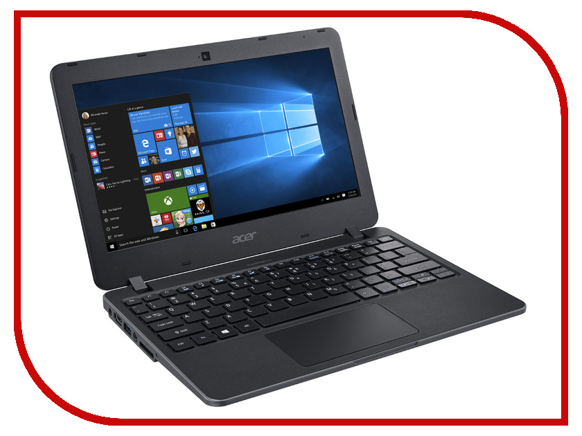 Ноутбук Acer TravelMate TMB117-M NX.VCHER.018 (Intel Celeron N3060 1.6 GHz / 2048Mb / 32Gb SSD / No ODD / Intel HD Graphics / Wi-Fi / Bluetooth / Cam / 11.6 / 1366x768 / Windows 10)