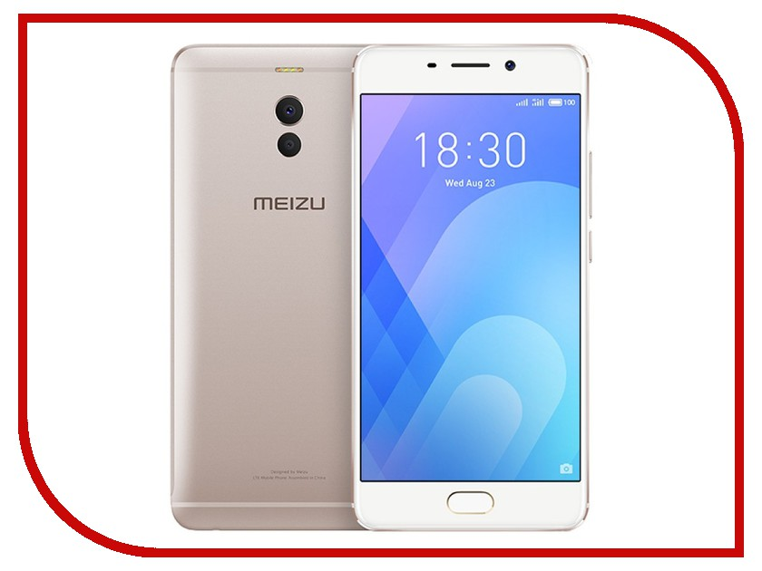 Сотовый телефон Meizu M6 Note 32Gb Gold смартфон meizu m6 note 32gb 3gb gold m721h