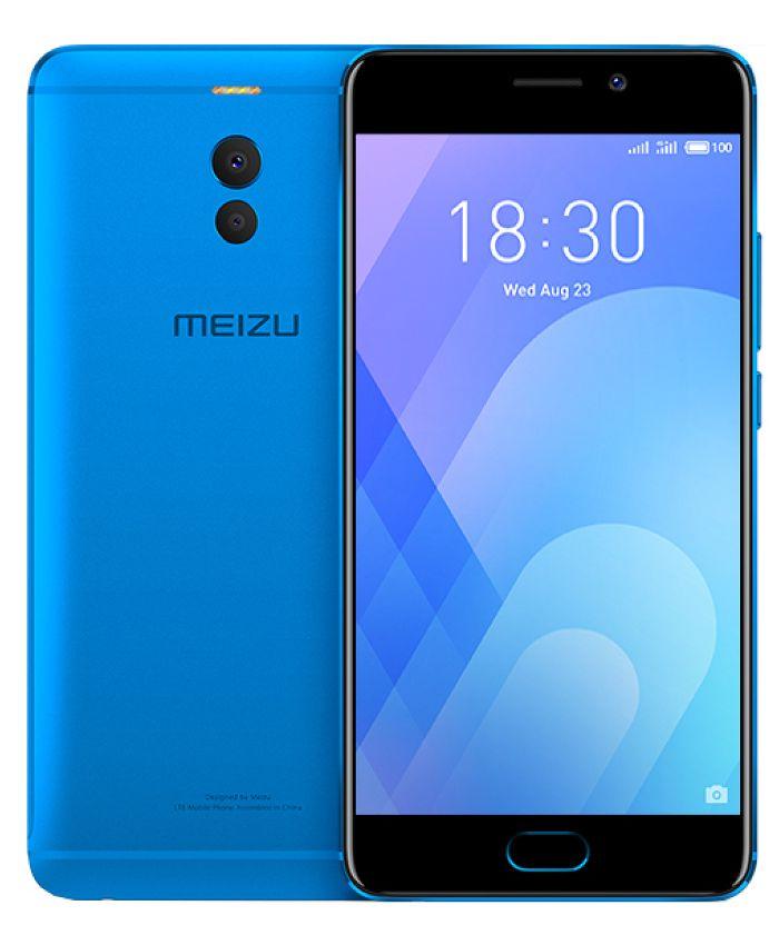 Сотовый телефон Meizu M6 Note 16Gb Blue meizu mx5 16gb черно серебристый
