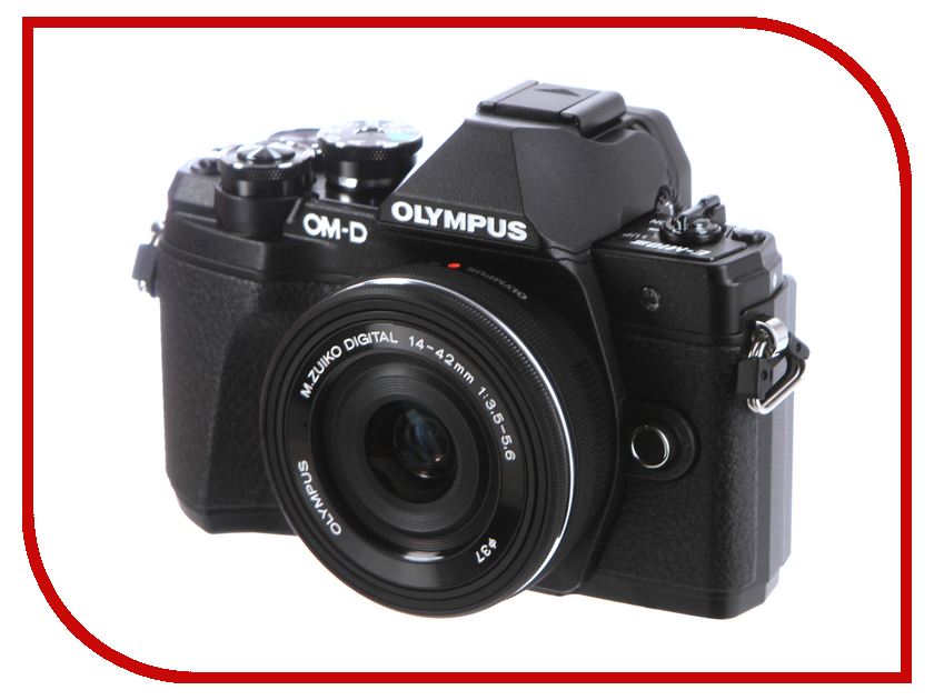 Фотоаппарат Olympus OM-D E-M10 Mark III Kit 14-42 mm EZ Black цифровой фотоаппарат со сменной оптикой olympus om d e m10 mark ii kit double zoom black
