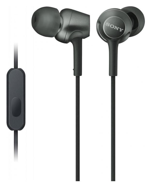 цена на Sony MDR-EX255AP Black