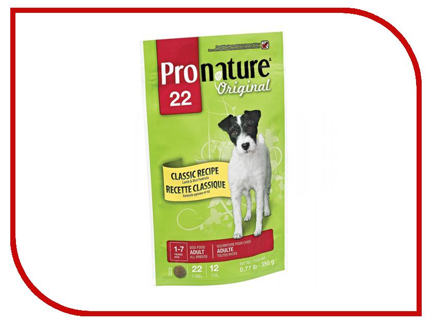 Корм Pronature 22 ягненок/рис 350g для собак 102.500