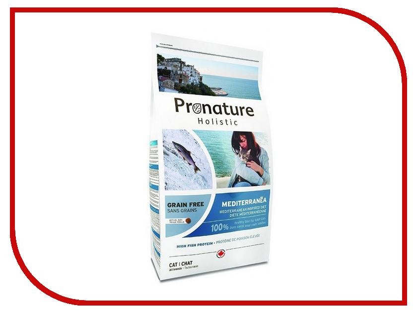 Корм Pronature Holistic GF Средиземноморское меню 340g для кошек 102.3003 сухой корм pronature holistic adult cat skin