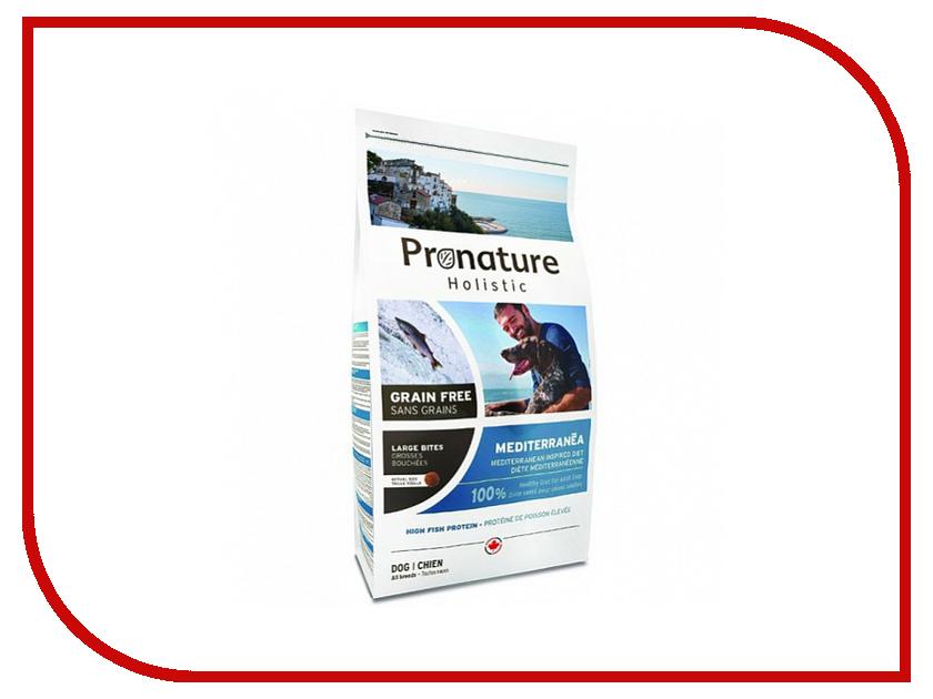 Корм Pronature Holistic GF Средиземноморское меню крупная гранула 340g для собак 102.3115 сухой корм pronature holistic adult cat skin