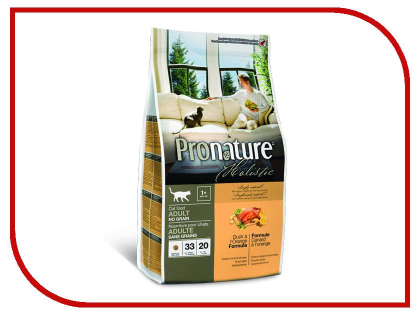 Корм Pronature Holistic утка с апельсином 2.72kg для кошек 102.2021 сухой корм pronature holistic adult cat skin