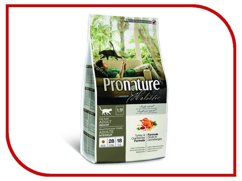 Корм Pronature Holistic индейка с клюквой 2.72kg для кошек 102.2027 сухой корм pronature holistic adult cat skin