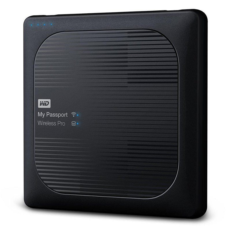 Жесткий диск Western Digital My Passport Wireless Pro 3Tb WDBSMT0030BBK-RESN