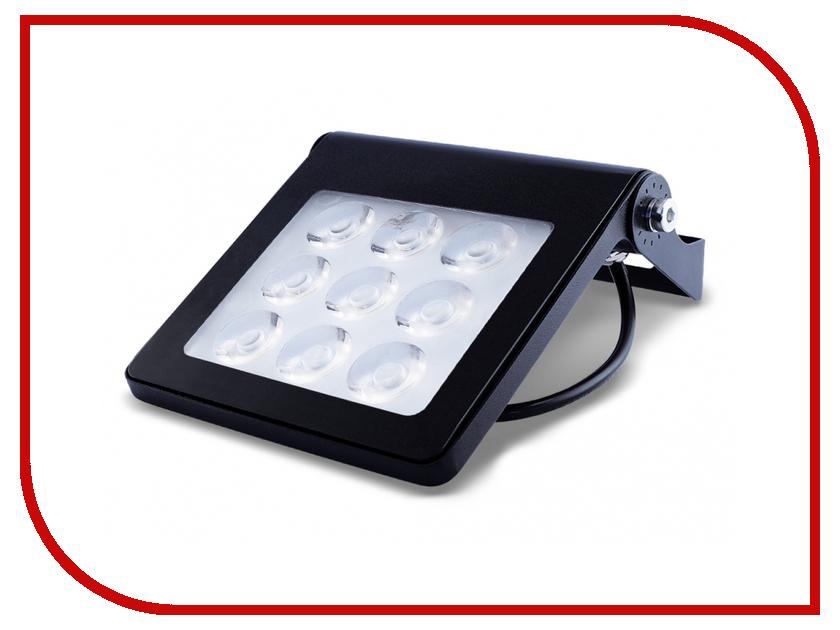 Лампа ECOWATT FLP-010-5K SMD 10W 5000K 550Lm IP65 Black
