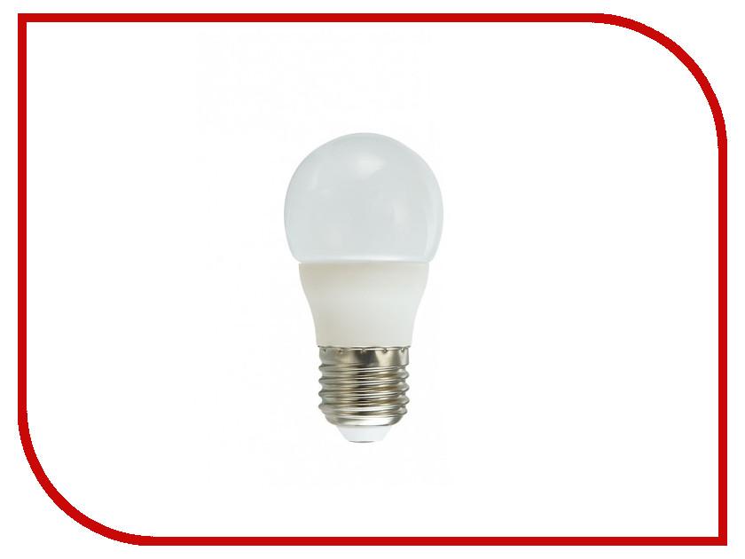 Лампочка Красная цена Шарик P45 E27 7W 4000K 590Lm Cold White лампочка ecowatt шарик нитевидный loft g125 e27 75w 2000k warm white