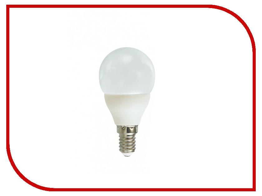 Лампочка Красная цена Шарик P45 E14 5.5W 4000K 450Lm Cold White лампочка ecowatt шарик p45 e14 4 2w 2700k cl 300 warm white