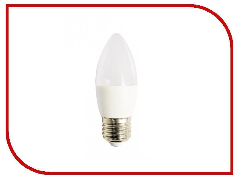 Лампочка Красная цена Свеча B35 E27 7W 3000K 570Lm Warm