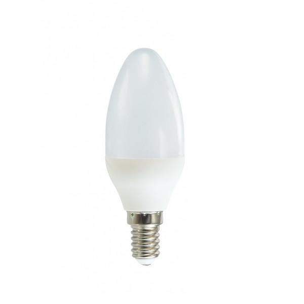Лампочка Красная цена Свеча E14 B35 7W 3000K 570Lm Warm White