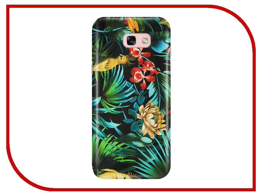 Аксессуар Чехол Samsung Galaxy A5 2017 A520 With Love. Moscow Flowers 4 6958 аксессуар чехол samsung galaxy a7 2017 with love moscow silicone russia 5090