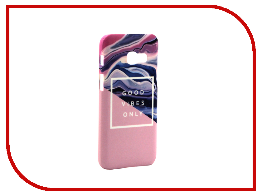 Аксессуар Чехол Samsung Galaxy A3 2017 A320 With Love. Moscow Good Vibes Only 6964 гель aravia professional cuticle remover 100 мл