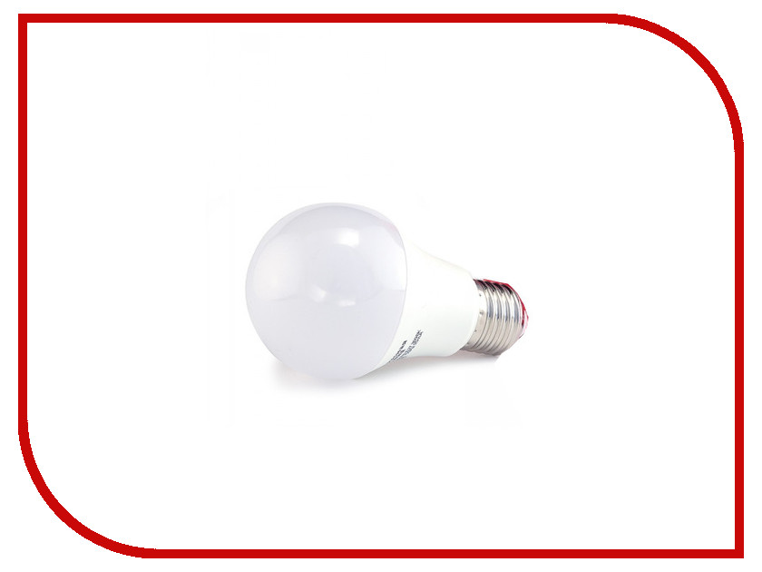 Лампочка Красная цена Груша A60 E27 9W 3000K 735Lm Warm