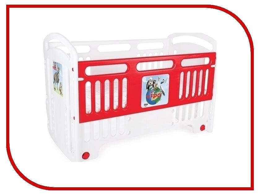 Манеж-кровать Pilsan Handy Cribs 07-554 Red удлинитель universal у10 554 5m 554 05