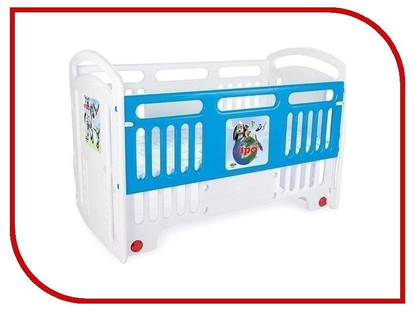 Манеж-кровать Pilsan Handy Cribs 07-554 Blue удлинитель universal у10 554 5m 554 05