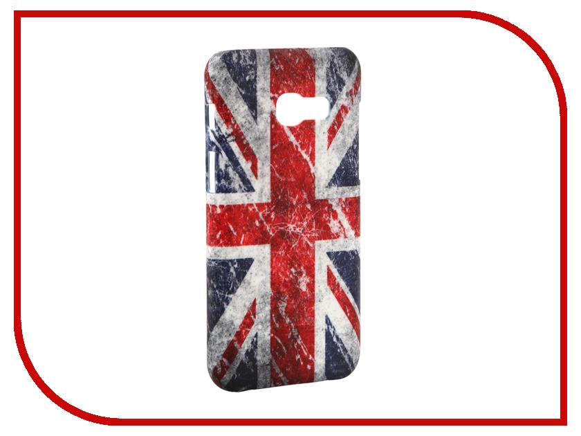 Аксессуар Чехол Samsung Galaxy A3 2017 A320 With Love. Moscow Union Jack 6974