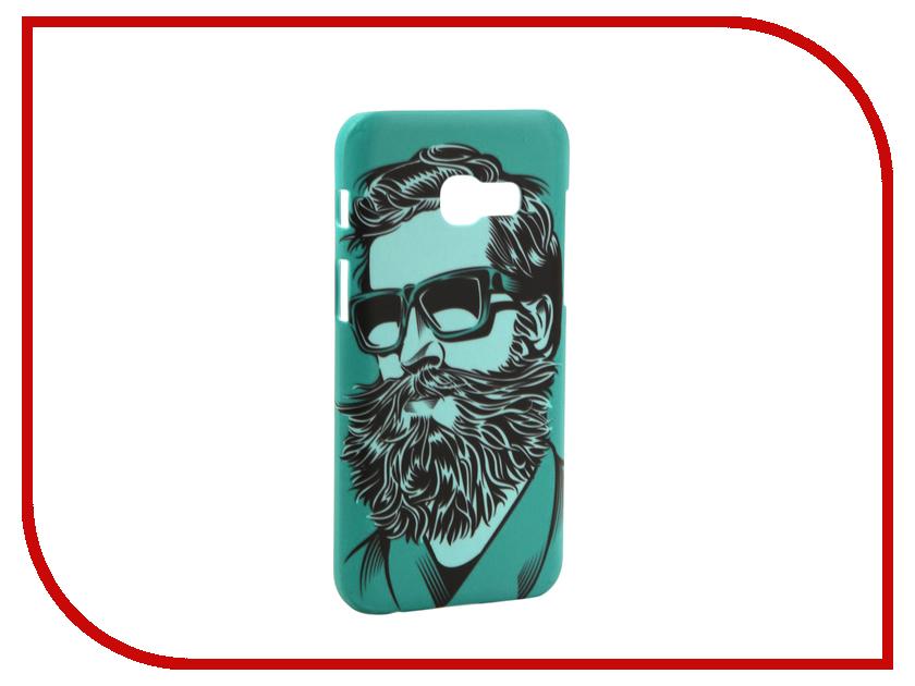Аксессуар Чехол Samsung Galaxy A3 2017 A320 With Love. Moscow Green Beard 6982
