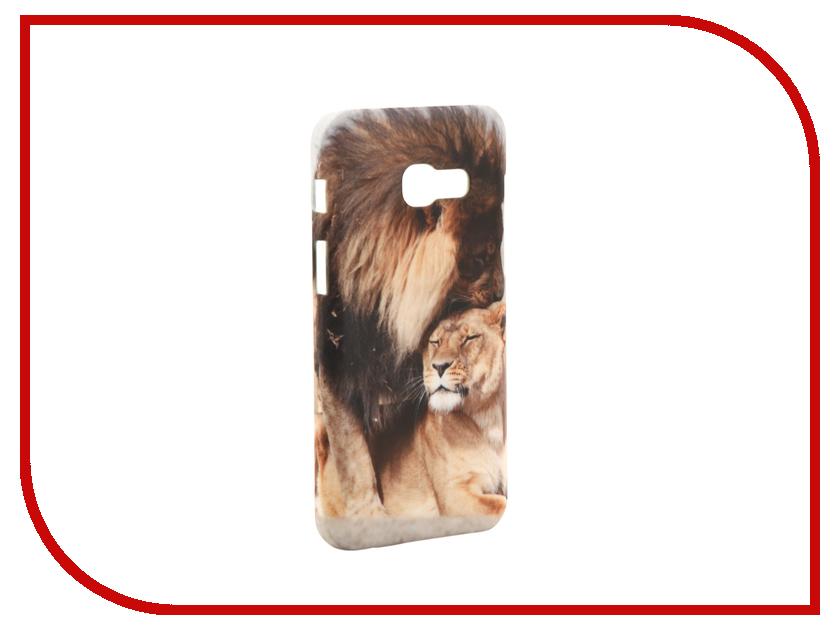 Аксессуар Чехол Samsung Galaxy A3 2017 A320 With Love. Moscow Lions 6992
