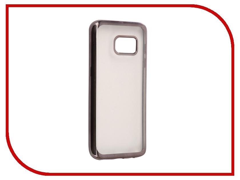 Аксессуар Чехол Samsung Galaxy S7 G930F Svekla Silicone Black SVF-SGG930F-BL аксессуар чехол samsung galaxy j2 prime g532f svekla flash silicone black svf sgg532f bl