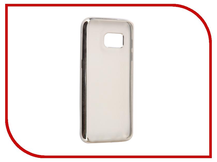 Аксессуар Чехол Samsung Galaxy S7 G930F Svekla Silicone Silver SVF-SGG930F-SIL аксессуар чехол samsung galaxy a5 2017 a520f svekla flash silicone silver frame svf sga520f sil