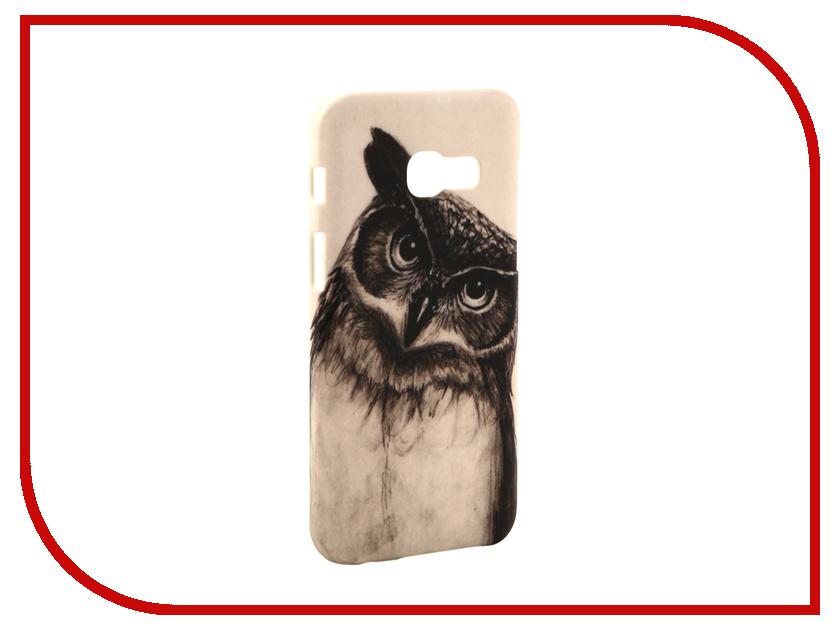 Аксессуар Чехол Samsung Galaxy A3 2017 A320 With Love. Moscow Owl 2 7007
