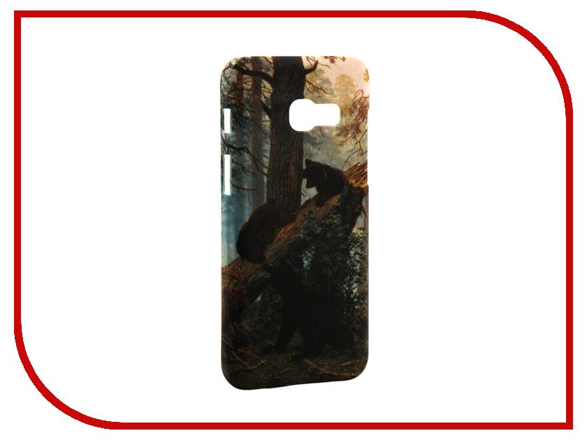 Аксессуар Чехол Samsung Galaxy A3 2017 A320 With Love. Moscow Morning in the Pine Forest 7010 e1 7010 производительность