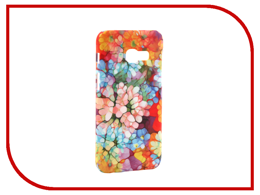 Аксессуар Чехол Samsung Galaxy A3 2017 A320 With Love. Moscow Flower Pattern 7012 аксессуар чехол samsung galaxy a3 2017 a320 with love moscow starlight night 6981