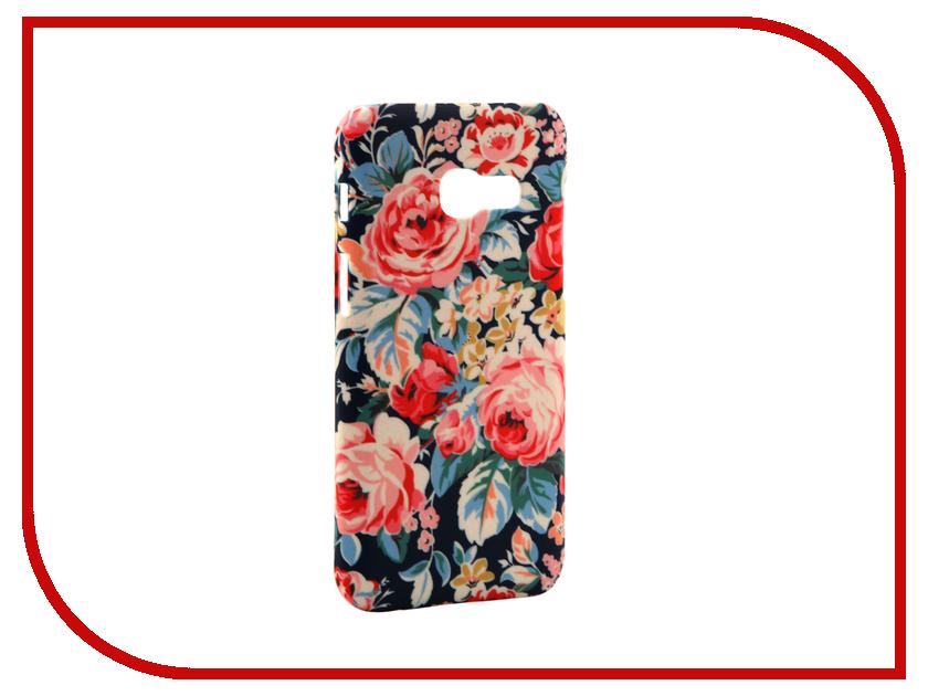 Аксессуар Чехол Samsung Galaxy A3 2017 A320 With Love. Moscow Flowers 3 7013