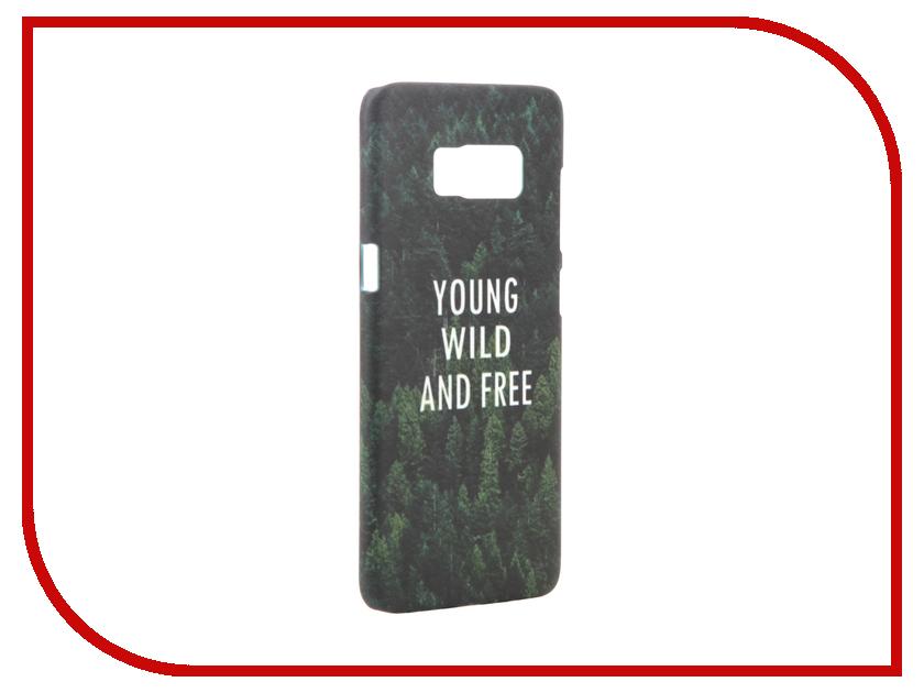 Аксессуар Чехол Samsung Galaxy S8 With Love. Moscow Young Wild and Free 7024 nowodvorski sv 7024